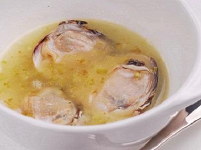 蛤のナージュ 蕗の薹の香り