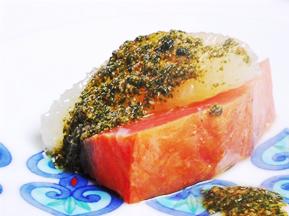 鱒の燻製 ケッパー、ハーブのソース